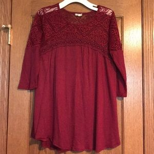 Like New Vanity Lace Top